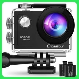 アクションカメラ WiFi搭載 1080PフルHD高画質 1200...