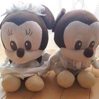 Mickey&Minnieぬいぐるみ