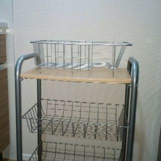 キッチン用ストレージ棚
