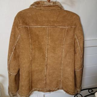 更に値下げ コムサイズムレディースムートン風ジャケットMサイズ - 服/ファッション