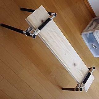 《再値下げ》自作の椅子台(未使用)