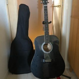 【エレアコセット】ギター本体・カバー・ギター立て・ストラップ