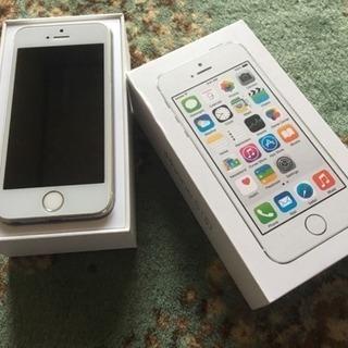 iPhone5Sシルバー 16G