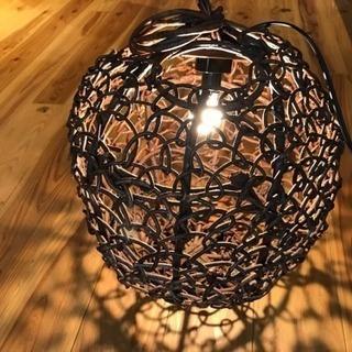 【終了】アジアンランプ 関節照明の画像