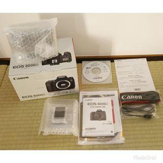 キヤノン デジタル一眼レフカメラ EOS 8000D ボディー ...
