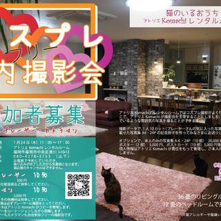 写真アルバム付【コスプレ撮影会開催】猫のいるおうちアトリエKoma...