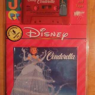 「シンデレラ」と「美女と野獣」の英語の絵本(カセットテープ付)+...