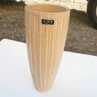 清水焼 花瓶 ガラス花瓶 セット