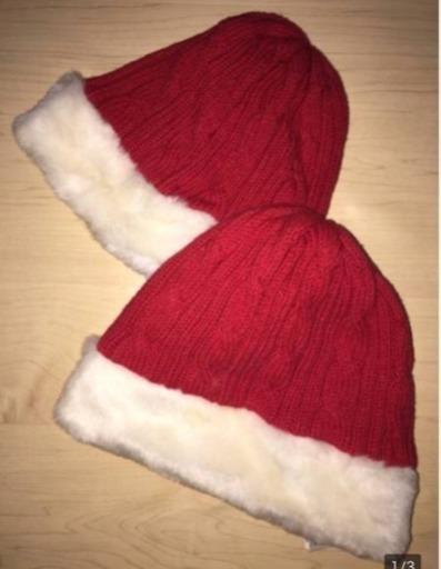 04568fd9609c6 新品 babyGAP ベビーギャップ♪クリスマス サンタ ニット 帽子 (xxbgk824 ...