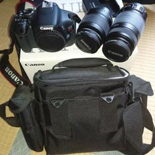 【決まりました】Canon EOS kiss x5 ダブルズーム...