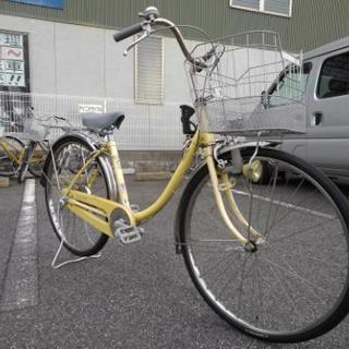 中古自転車319(防犯登録600円無料) タウンサイクル 26イン...