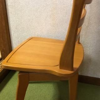 ダイニングの椅子(回転します)