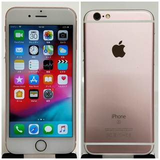 SIMフリー iPhone 6s 128GB ローズゴールド 美...