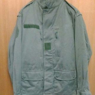 フランス軍F2ジャケットショート丈 ミリタリージャケット