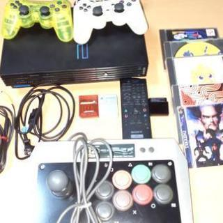 PS2 ジョイスティック+ リモコン+メモリーカード+ソフト...