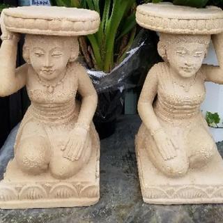 花台1対 バリ島.タイ.インドネシア.アジアン