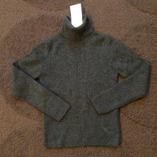 未使用 130 セリーヌ カシミヤタートルネックセーター