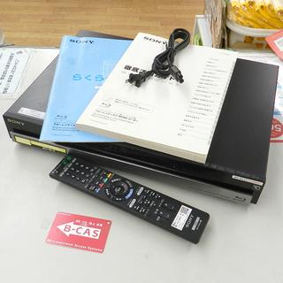 ソニー ブルーレイディスク/DVDレコーダー BDZ-RS10 ...