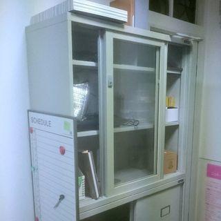 ◆事務用書類棚◆高さ2m◆使用感あり