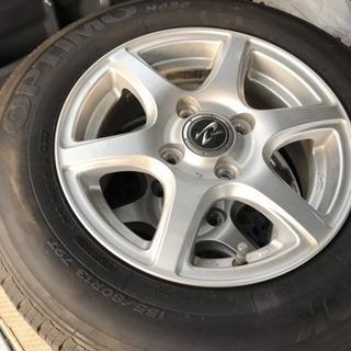 タイヤホイール4本セット(パッソにて使用してました)
