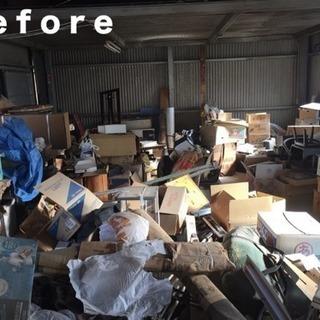 ゴミ屋敷片付け✨事務所店舗の清掃お片付け・不用品回収🚚遺品整理