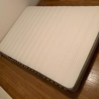 IKEA HAMARVIK ダブル ベッドマットの画像