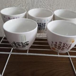 湯飲み茶碗5個セット