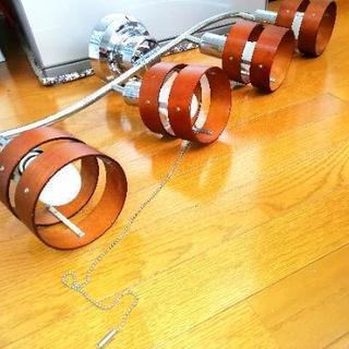 【お取引中】木目調シーリングライト【LED電球4つ付】
