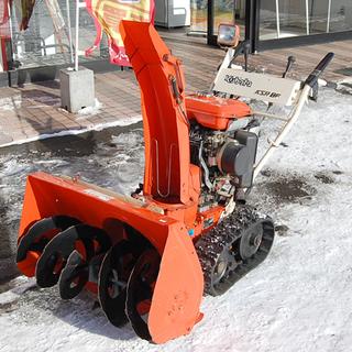 KUBOTA/クボタ 除雪機 KSR8F 7.5馬力 エンジン式 ...