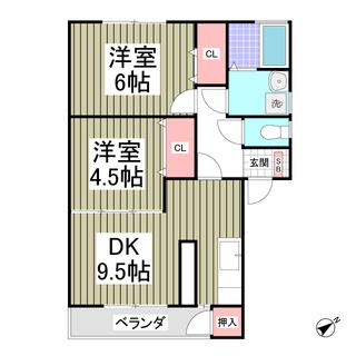 初期費用8万円!駐車場2台込!