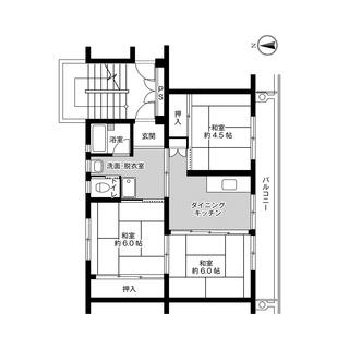 初期費用0円 城島3DK 当月日割り家賃+次月家賃だけ 保証人不要...