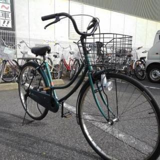 中古自転車321(防犯登録600円無料) タウンサイクル 26イン...