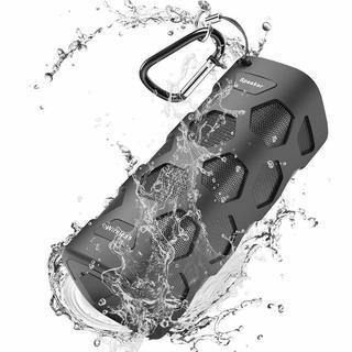 Bluetoothスピーカー 重低音 IPX56 防水