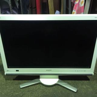 🉐2007年製 シャープ 32型液晶テレビ リモコン付き