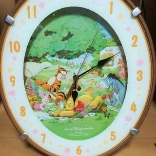 «中古品»くまのプーさん 掛け時計