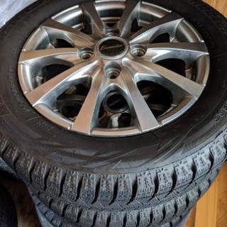 155/65R13 タイヤ&ホイールセット