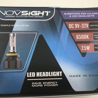NOVSIGHT H4 LEDヘッドライト ファンレス 車検対応 ...