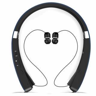 Bluetooth ワイヤレスイヤホン 首掛け IPX4防水
