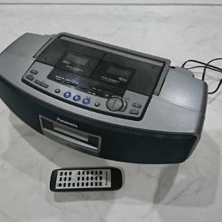 Panasonic CDラジカセ リモコン付き パナソニック