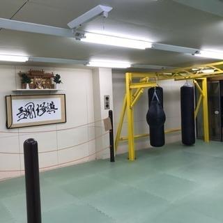 打撃系格闘技のジムがオープンしました。
