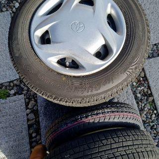 冬用タイヤ 横浜タイヤ155・80R13(4本セット)