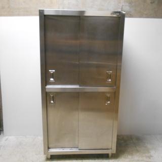 ヤマト厨機 ステンレス食器棚『良品中古』【リサイクルショップサルフ】