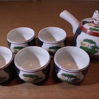 九谷仙龍 松竹梅 五客茶器