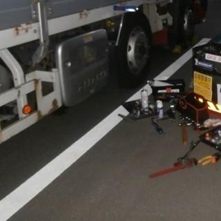 トラックタイヤ交換・スタッドレス交換(出張脱着作業) - 桑名市