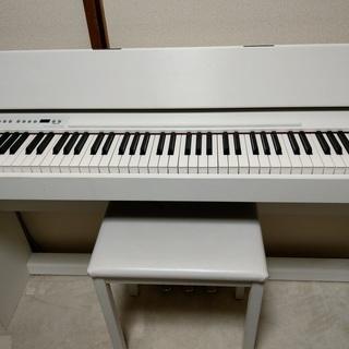 Roland 電子ピアノ 白 F110 2010年製