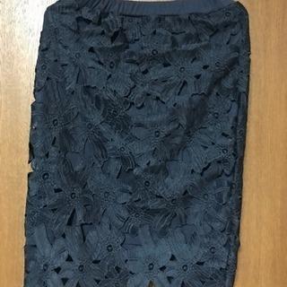 ノーブランド レースタイトスカート