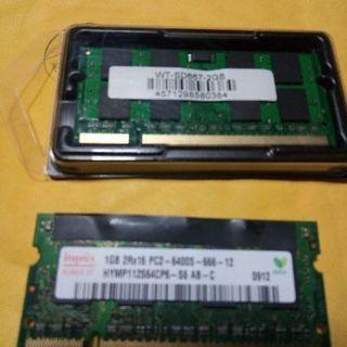 ノートパソコンメモリ WT-SD667-2GB