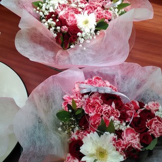 ハートをひとり占め♥バレンタインのハートアレンジメント