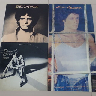 ERIC CARMEN / エリック・カルメン 日本盤LP3枚