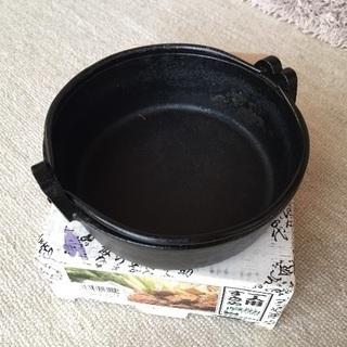 1人すき焼き鍋